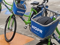 ESL grant funds HOPR bike and scooter stations