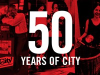 Happy Birthday to Us: Fifty Years of CITY