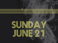 Sunday, June 21 - Schedule