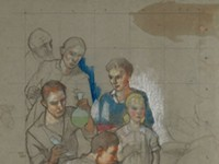 MAG exhibit highlights Carl Peters and the era of WPA murals