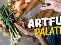Local food gets an artistic spin