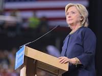 Hillary got pneumonia. Me, too! Me, too!