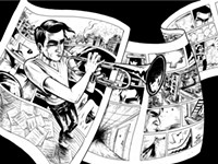 Graphic novel 'Instrumental' tackles creative ambition