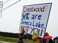 Company appears to halt Seneca Lake gas storage project