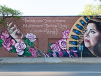 Mural series 'Her Voice Carries' lifts local women