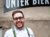Unter Biergarten brings the Wurst to the East End