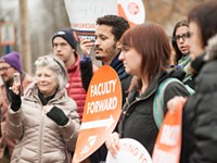 Nazareth's adjuncts join the labor movement