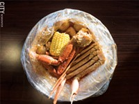 Viet-Cajun fare at Juicy Seafood