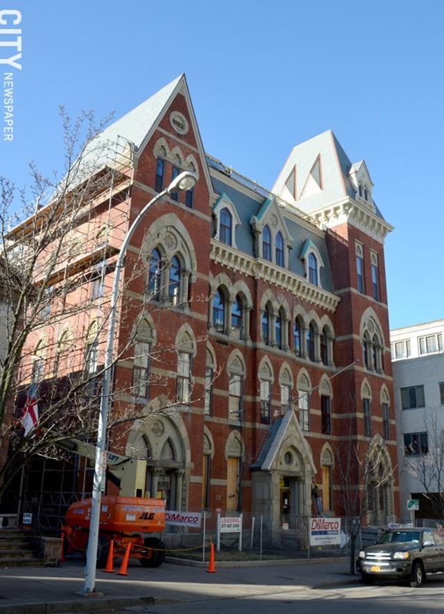 Academy Building, Under Construction