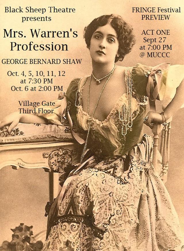 FRINGE SHOWS: Friday, September 27