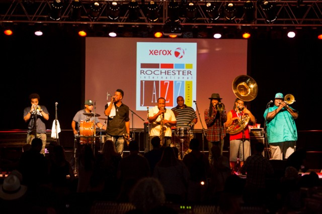 The Soul Rebels -- Jazz Fest 2015