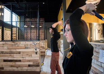 Axes & Ales opens on East Avenue