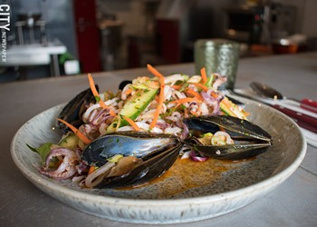 Rocco owner opens seafood dining bar