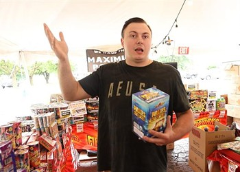 Legal fireworks aren't going boom in the night
