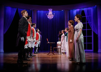 "Theater review: ""Austen's Pride"" at Nazareth""Austen's Pride: A New Musical of Pride and Prejudice"""