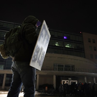 In pictures: Free the People Roc protest February 23, 2021