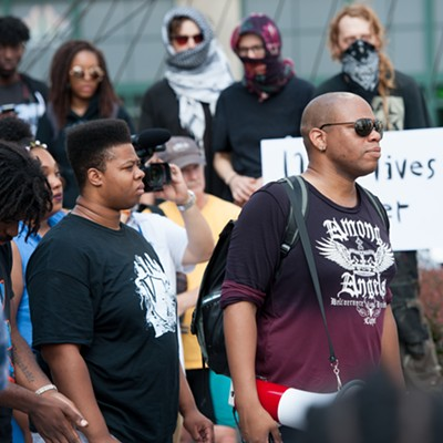 Black Lives Matter rally 07.08.2016