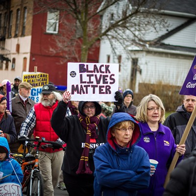 Community marches for economic and racial justice