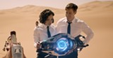 """PHOTO COURTESY SONY PICTURES - Tessa Thompson and Chris Hemsworth in """"Men in Black: International."""""""