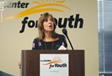 """FILE PHOTO - Center for Youth Executive Director Elaine Spaull: """"We have to keep talking"""" about the needs of families."""