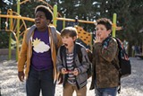 """PHOTO COURTESY UNIVERSAL PICTURES - Keith L. Williams, Jacob Tremblay, and Brady Noon in - """"Good Boys."""""""