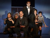"PHOTO COURTESY SAMPER IMAGES - The cast of ""The Addams Family,"" which is being staged by Webster Theatre Guild through October 19."
