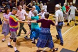Contra dancers from all over will enjoy CDR's Thanksgiving Dance Festival - Uploaded by Dave Bippy Boyer