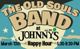The Old Souls Band at Johnny's Pub Happy Hour - Uploaded by brightcourse
