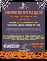 All event details! - Uploaded by Webster Parks and Recreation
