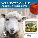 Crafting with Sheep! - Uploaded by Paige Doerner