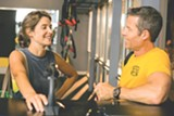 "PHOTO COURTESY MAGNOLIA PICTURES - Cobie - Smulders and Guy Pearce in ""Results."""