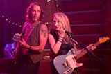 "PHOTO COURTESY SONY PICTURES - Meryl Streep and Rick Springfield in ""Ricki and the - Flash."""