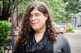 PHOTO BY MARK CHAMBERLIN - Transgender activist Julia Acosta.