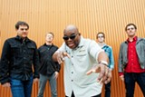 PHOTO BY DREW REYNOLDS - Barrence Whitfield and the Savages will shake you to the bones with its rockin' soul and R&B. The band is playing Abilene on Tuesday, August 25.