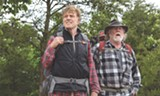 "PHOTO COURTESY BROAD GREEN PICTURES - Robert Redford and Nick Nolte in ""A Walk in the - Woods."""