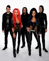 PHOTO PROVIDED - The Butcher Babies will open for GWAR at Water Street Music Hall on Friday, September 18.