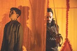 """PHOTO COURTESY WARNER BROS. PICTURES - Levi Miller and Hugh Jackman in """"Pan."""""""