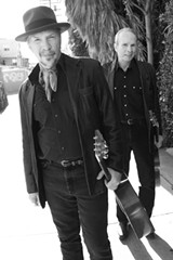 "PHOTO BY JEFF FASANO - Brothers Dave and Phil Alvin formed The Blasters in the 1970's, but went their seperate ways in the 80's. The brothers are back together and recently released the blues album ""Lost Time."""