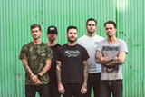 PHOTO PROVIDED - Senses Fail (Buddy Nielsen at center) plays Anthology with Silverstein on Wednesday, November 18.