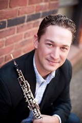 PROVIDED PHOTO - Oboist Erik Behr.