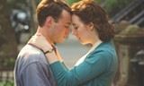"PHOTO COURTESY FOX SEARCHLIGHT PICTURES - Emory Cohen and Saoirse Ronan in ""Brooklyn."""