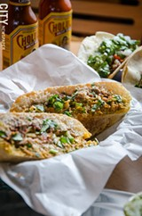 PHOTO BY MARK CHAMBERLIN - Hearty sandwiches called tortas.