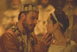 "PHOTO COURTESY THE WEINSTEIN COMPANY - Michael Fassbender and Marion Cotillard in ""Macbeth."""