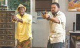 "PHOTO COURTESY UNIVERSAL PICTURES - Kevin hart and Ice Cube in ""Ride Along 2."""