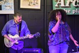 PHOTO BY ROMAN DIVEZUR - Danielle Ponder and the Tomorrow People performed at The Record Archive last Friday.