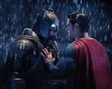 """PHOTO COURTESY WARNER BROS. - Ben Affleck and Henry Cavill - face off in """"Batman v Superman: Dawn of Justice,"""" but underneath all that - anger, there's a lot of love."""