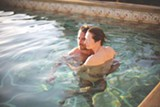 "PHOTO COURTESY FOX SEARCHLIGHT PICTURES - Tilda Swinton and Matthias Schoenaerts in ""A - Bigger Splash."""