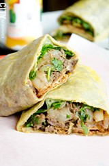 PHOTO BY MARK CHAMBERLIN - Sean Sun opened Crepe N'Go with a mission to show diners that Chinese food can be more than stir-fry. The restaurant serves Jianbing, a crepe dish that includes egg, sauces, and lettuce and bulgogi