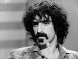 """PHOTO COURTESY SONY PICTURES CLASSICS - Musician Frank Zappa in a scene from the documentary - """"Eat That Question: Frank Zappa in His Own Words."""""""