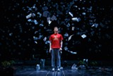 """PHOTO BY JOAN MARCUS - """"The Curious Incident of the Dog in the Night-Time"""" will launch its national tour at the Auditorium Theatre on September 27."""